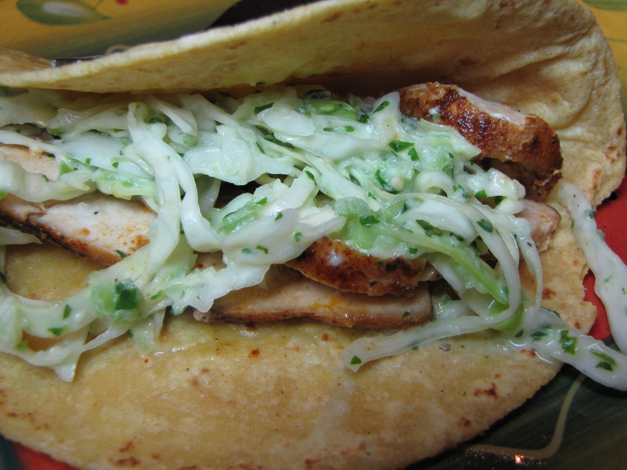 fish tacos with cabbage slaw kimversations