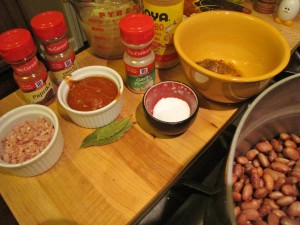 Rice and Beans - ingredients (2)