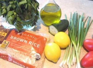 Brown Rice Salad Ingredients (1024x754)