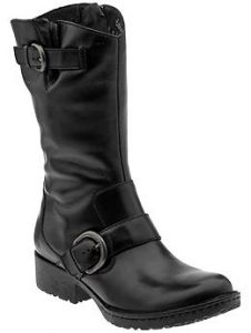 Well-made, high quality and comfort come with every pair of Born boots. This is Born's Beryl boot in black.