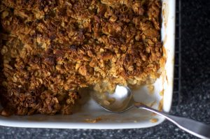 Breakfast Apple Granola Crisp from Smitten Kitchen