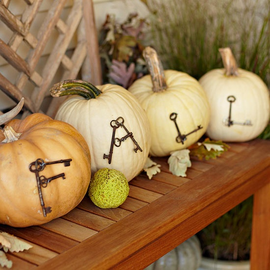 Fall decorating ideas kimversations - Pumpkin decorating ideas autumnal decor ...