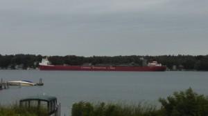 Alexandria Bay Freighter