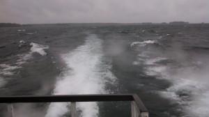 Alexandria Bay - rough water