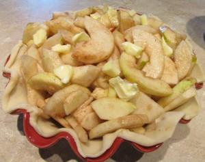 Apple Pear Crumble Pie - Kimversations