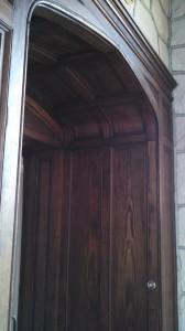 Singer Castle - detail door