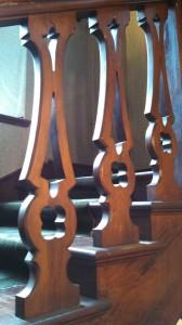 Singer Castle - railing detail