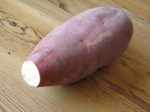 Asian sweet potato - inside