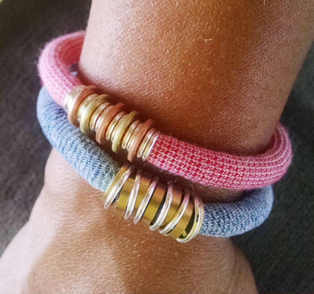 Upcycled bracelets - Razimus Jewelry
