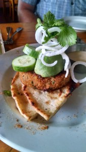 Red Curry Crab Cake