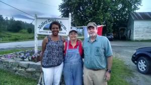 Me, Farmer Anne & Chef Steve