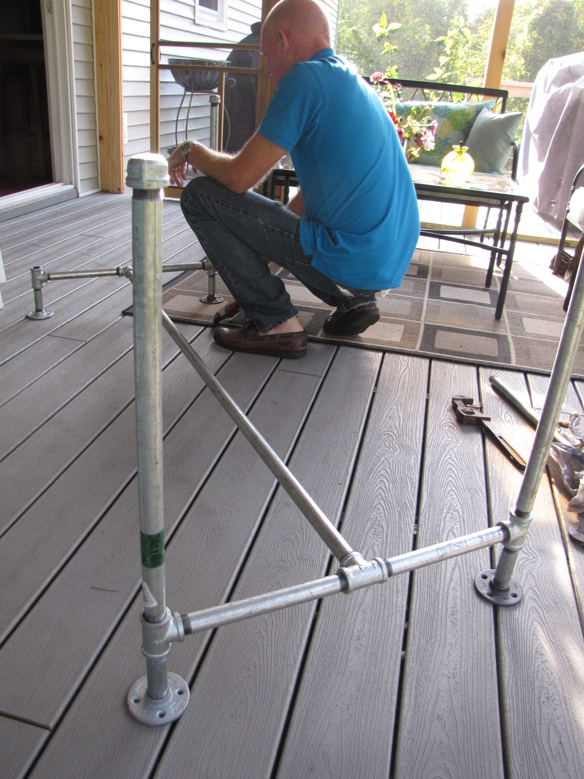 Table Base Under Construction