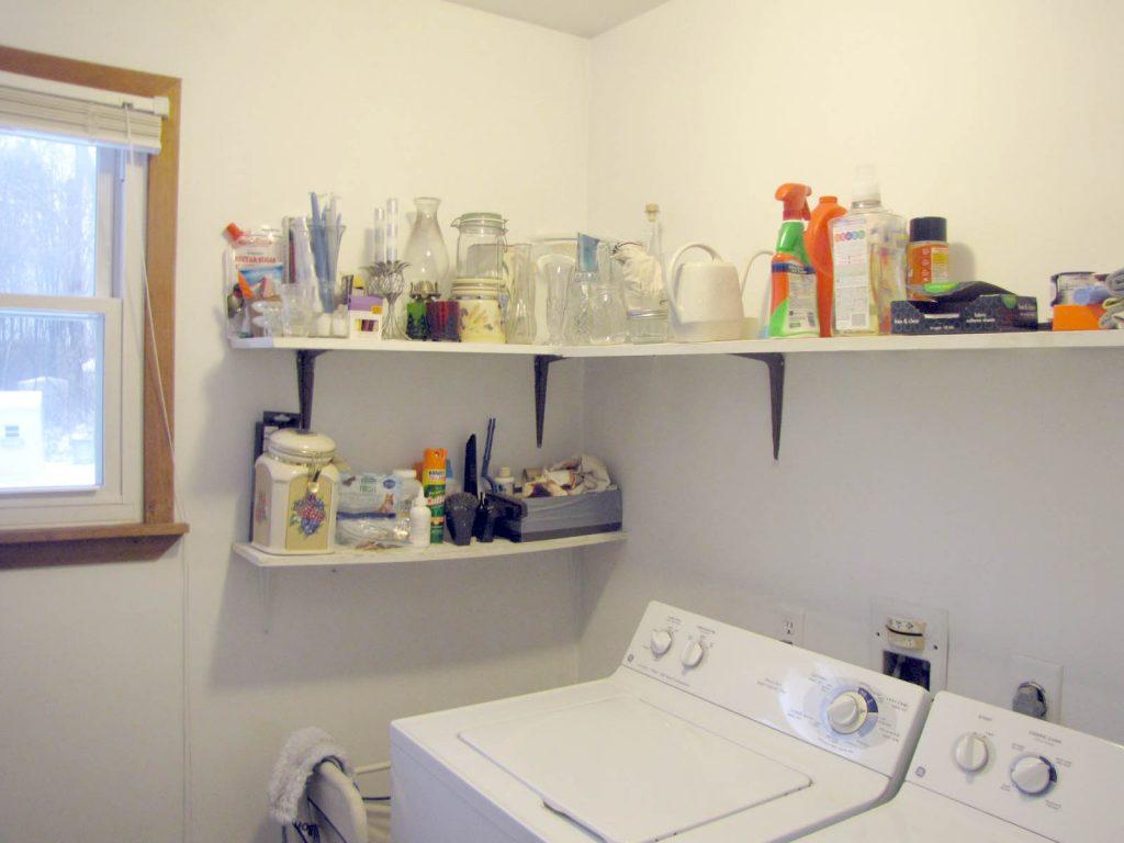 laundry room redo - before