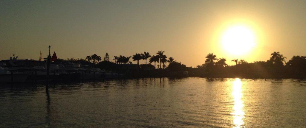 Sunrise - off to go fishing