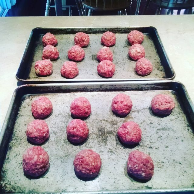 Two meatballs shy of two dozen soclose