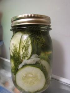 Crunchy Refrigerator Pickles