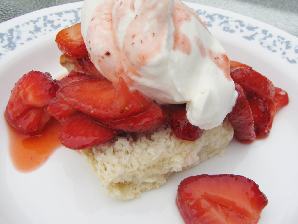 Strawberry Shortcake the biscuit kind