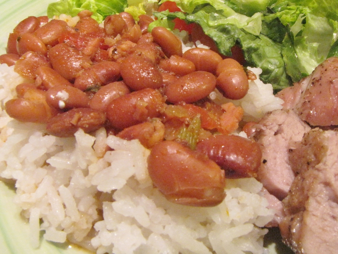 Puerto Rican Rice and Beans - Kimversations