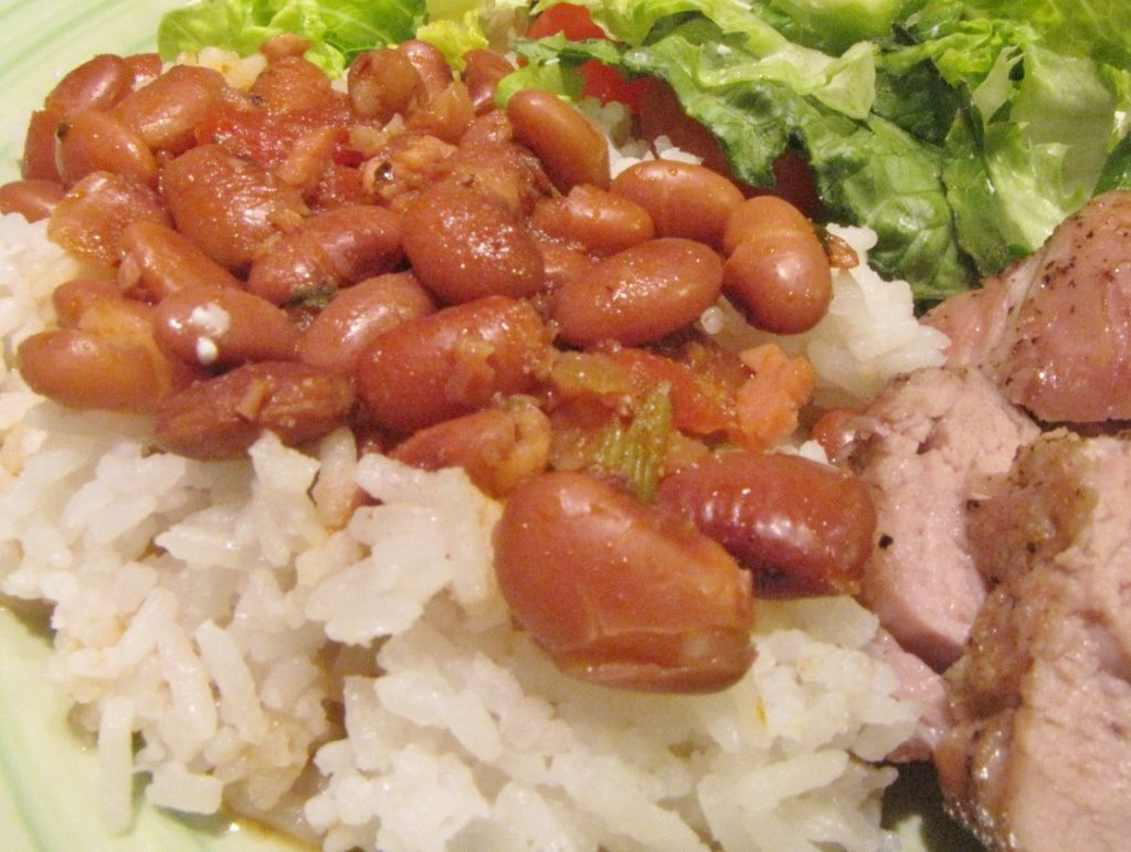 Puerto Rican Rice and Beans | Kimversations