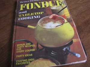 I love this cookbook. It covers the ABCs of fondue, chafing dishes and other forms of tabletop cooking. I highly recommend.