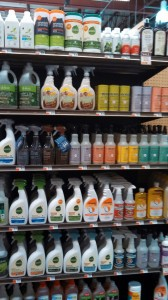 I'm getting more and more chemical-intolerant. Am happy to see the variety of cleaning products available.