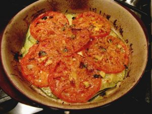 Tomato Zucchini Bake - fresh out of the oven (1024x768)