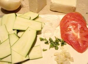 Tomato Zucchini Bake - layered veggies (1024x747)