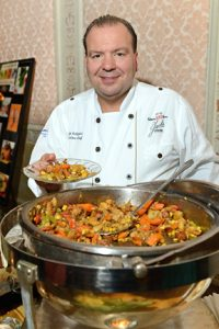 Chef Larry Schepici of Jack's Oyster House Photo by Liz Lajeunesse