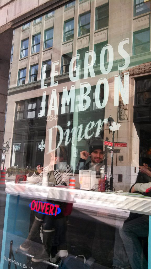 Le Gros Jambon - Old Montreal