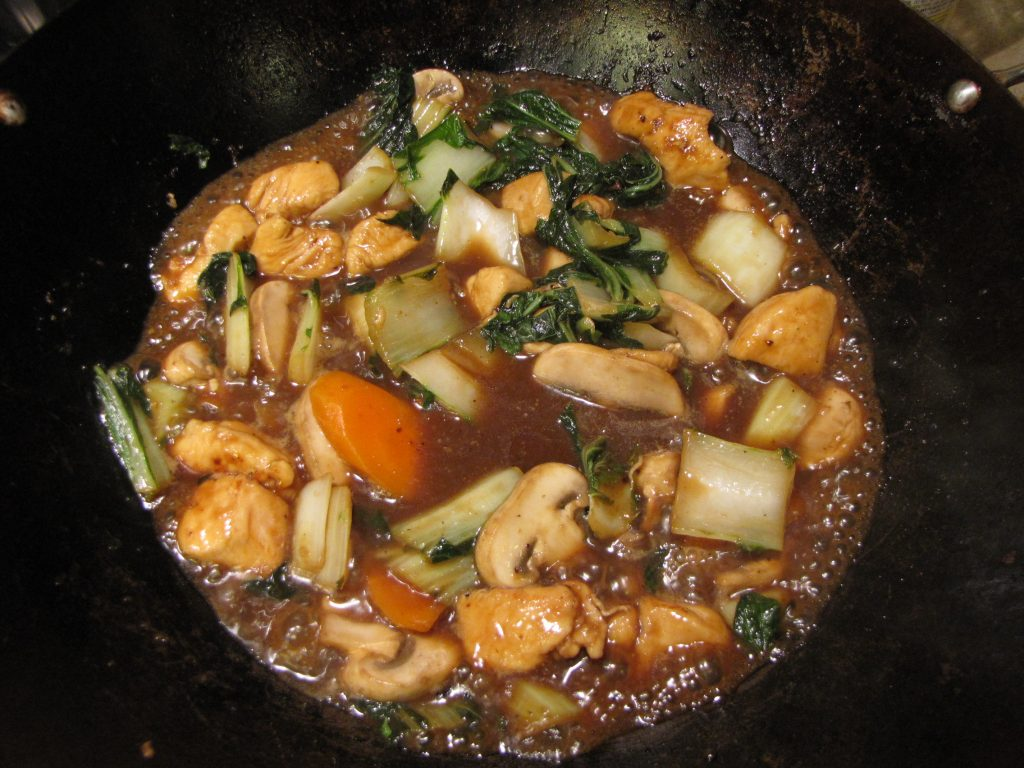 easy stir fried chicken