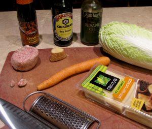 Pot Sticker Ingredients