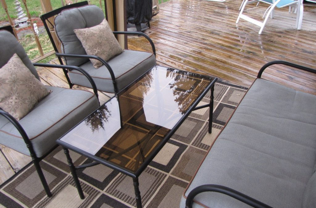 Deck furniture upholstery project - DIY