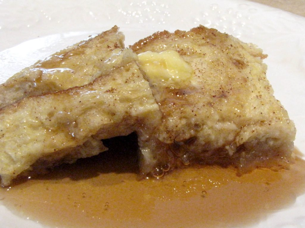 Overnight French Toast with Apples