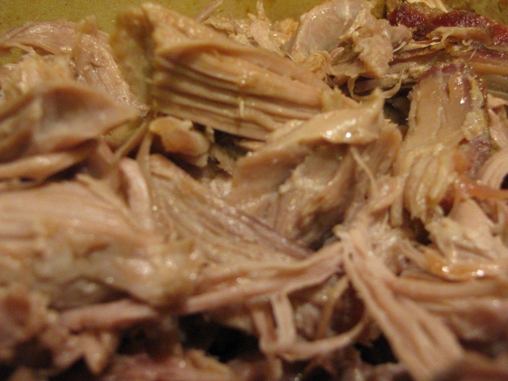 pulled pork - shredded