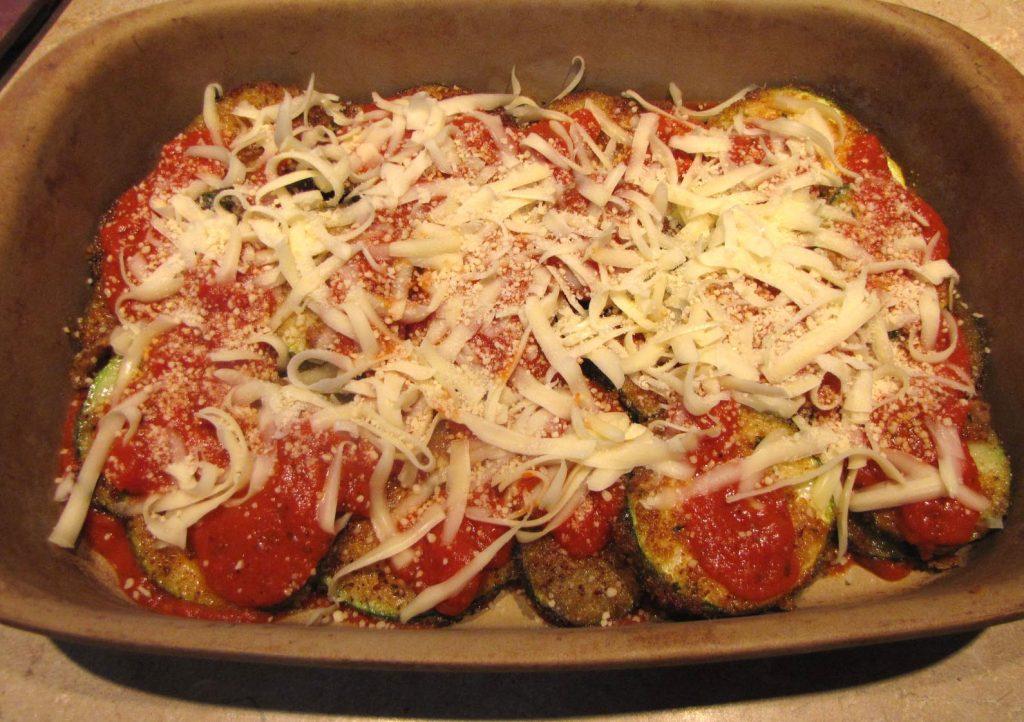 Zucchini Parm - Kimversations