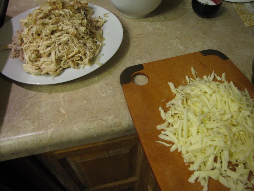 Enchiladas - Chicken and Cheese