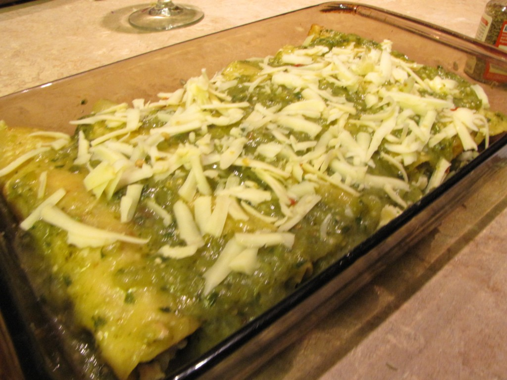 Enchiladas - ready to bake