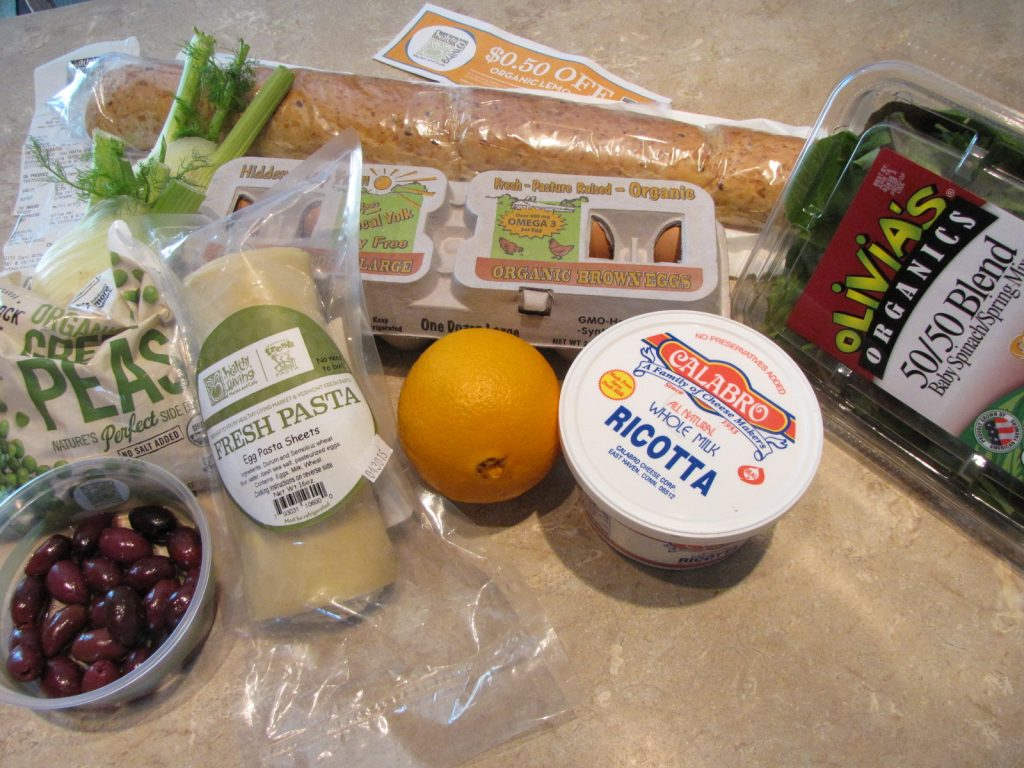 Groceries from Healthy Living Market