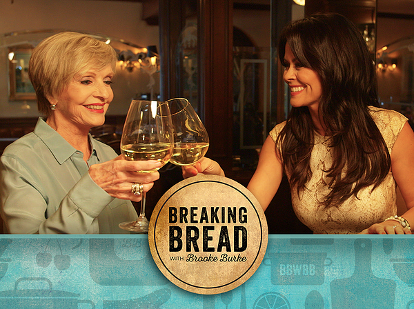 Brooke Burke and Florence Henderson