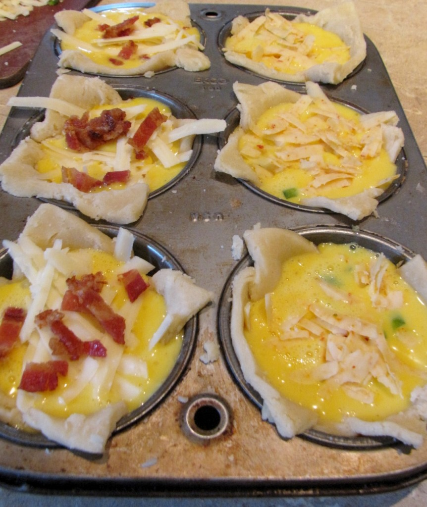 Mini Quiche - ready to bake