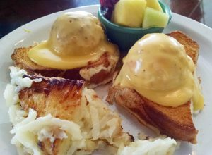 The Dock - Eggs Benedict