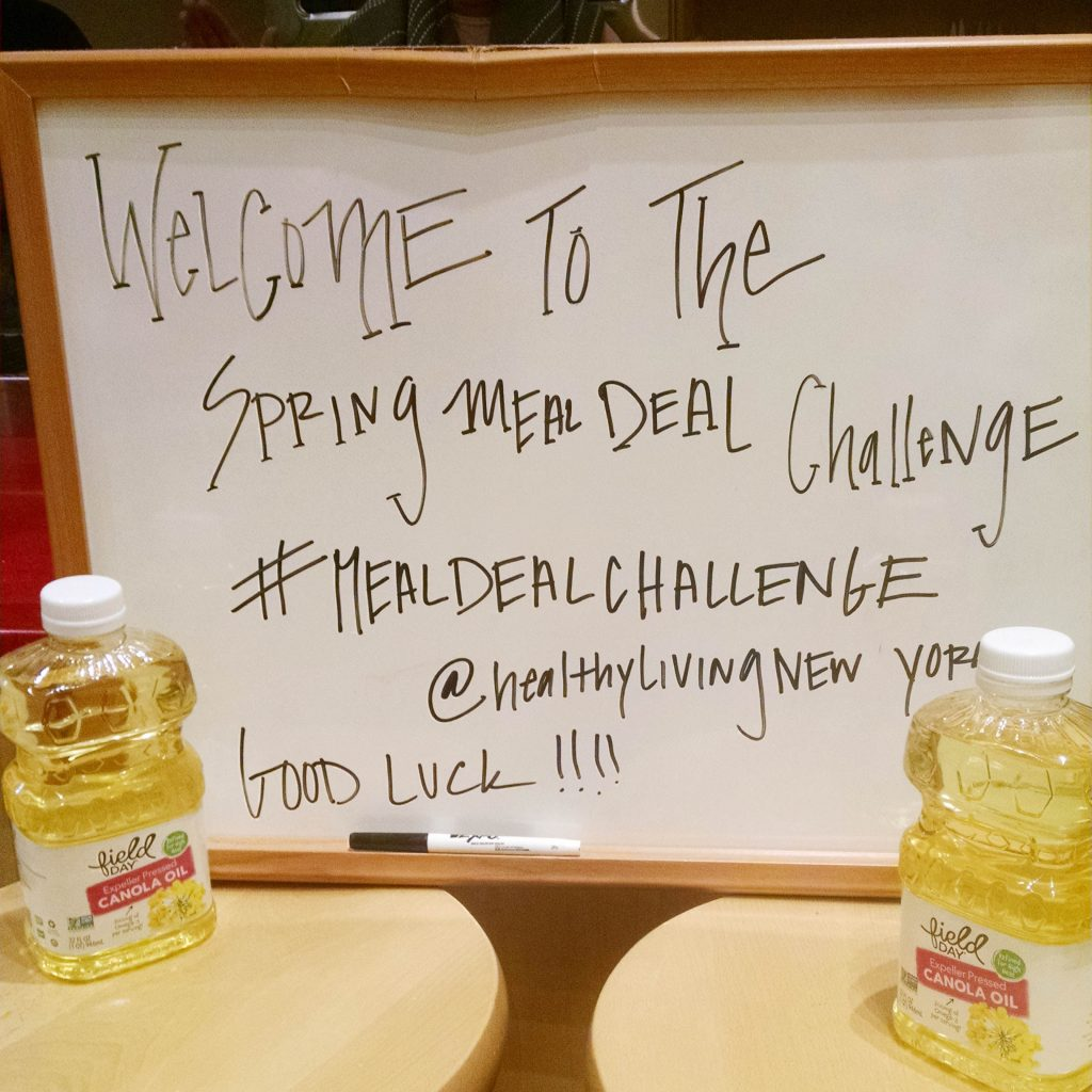Healthy Living Market Saratoga Spring Meal Deal Challenge