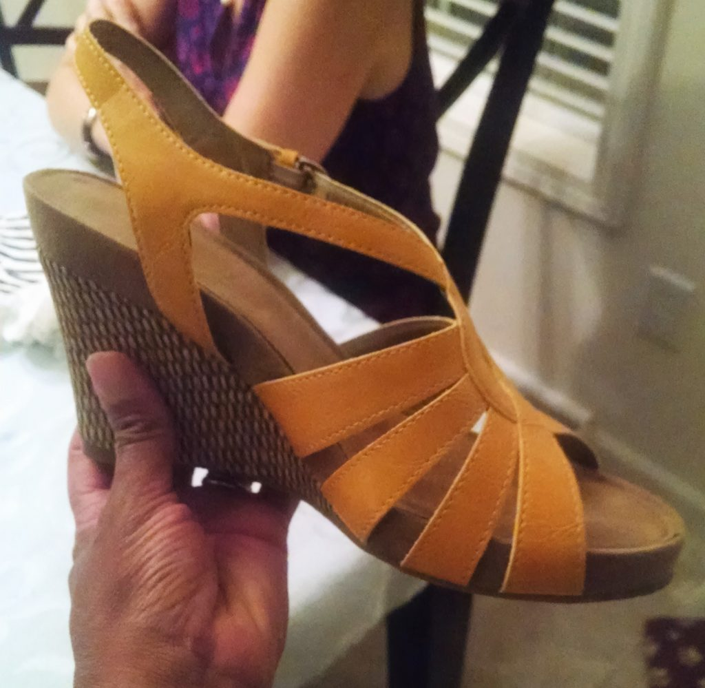 If I could fit into her shoes, this would have so been mine.