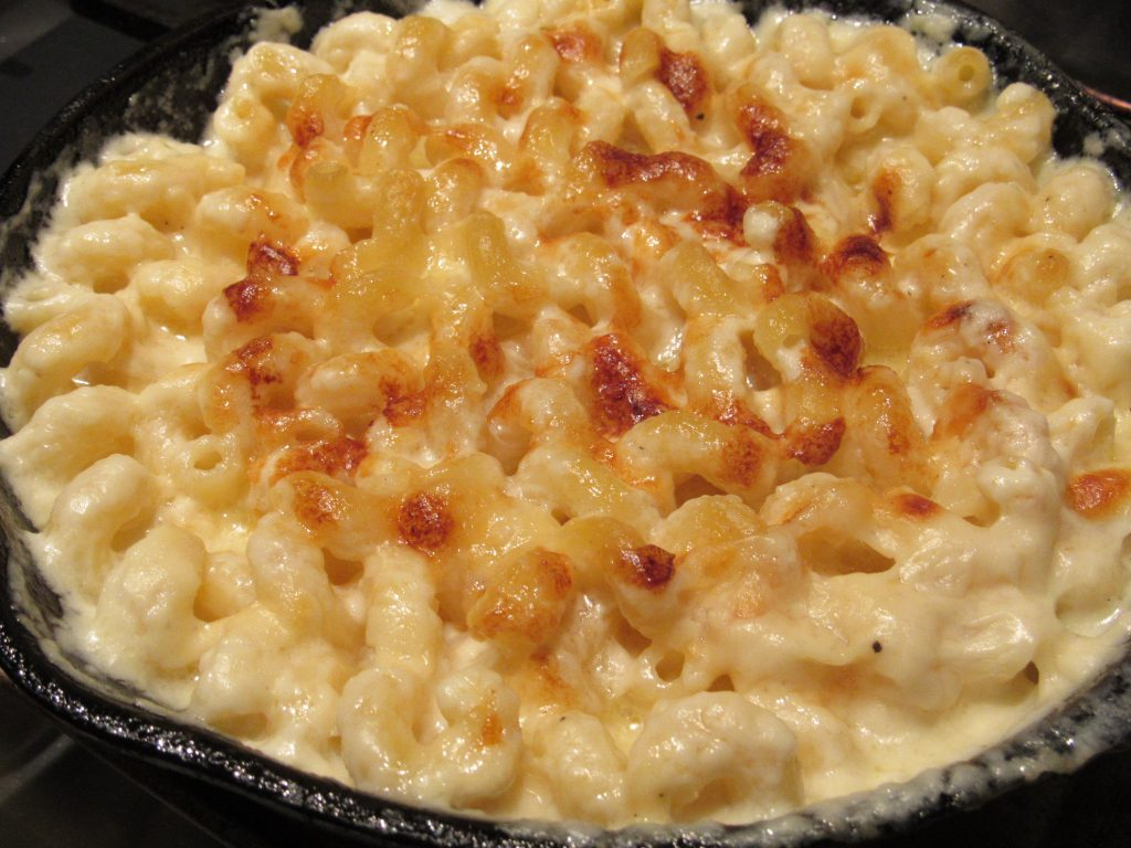 Mac-n-Cheese golden on top