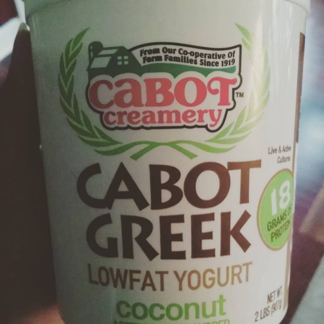 Coconut!!! Must be a new one from cabotcheese A nicehellip