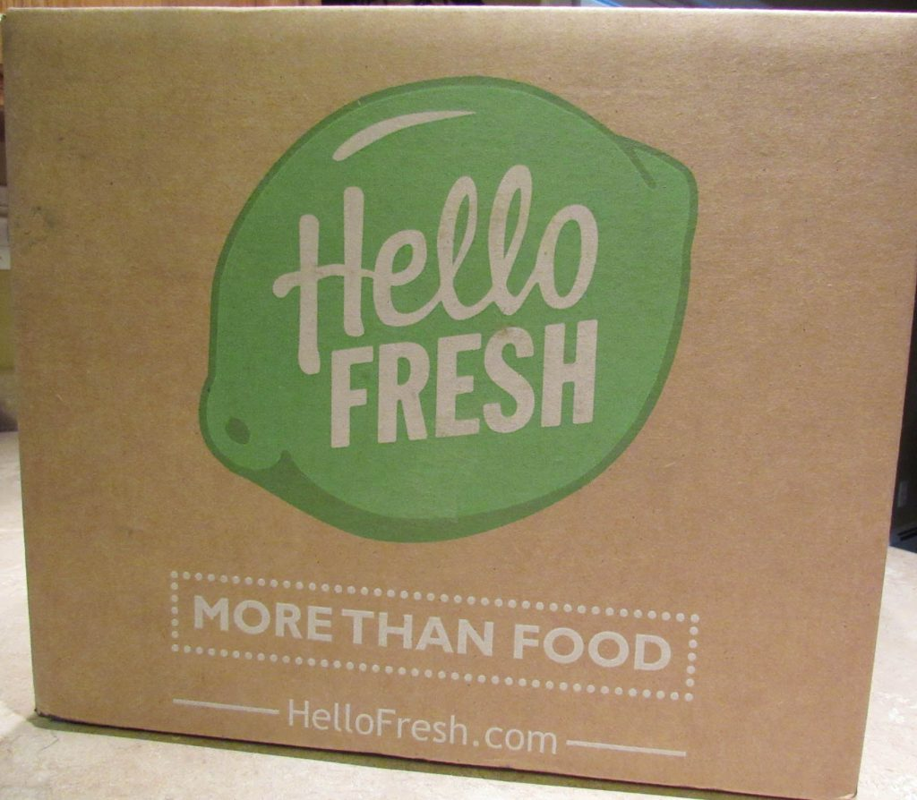 Hello Fresh Box - Kimversations