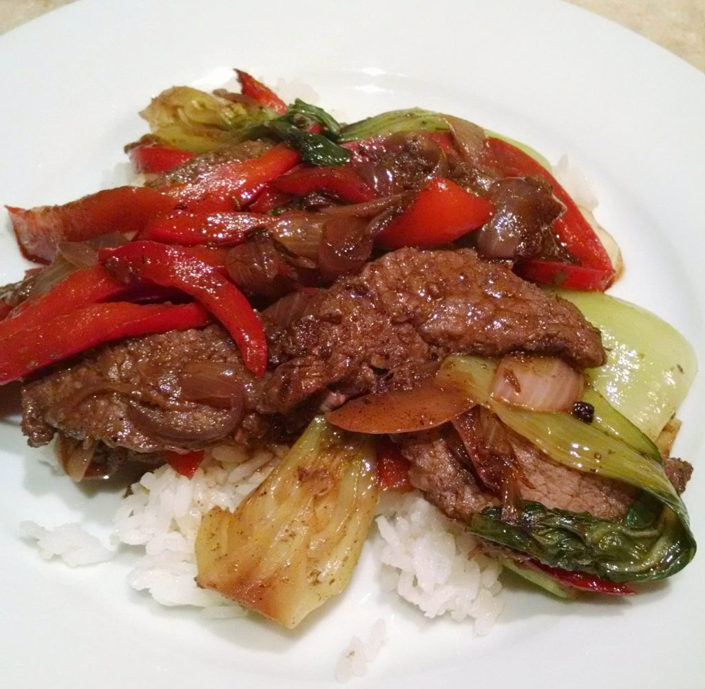Sizzling Beef Stir-Fry - Hello Fresh