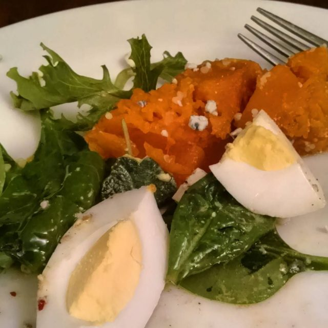 Just had to share Odd combination roasted butternut squash saladhellip