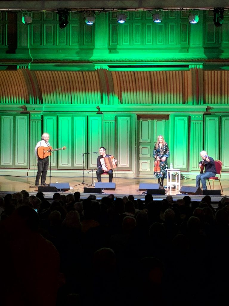 Altan performing at Troy Music Hall