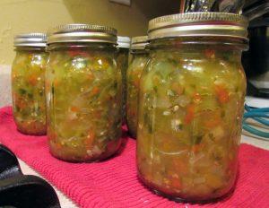 Green Tomato Salsa - Kimversations